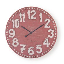 Clifford Clock, Red