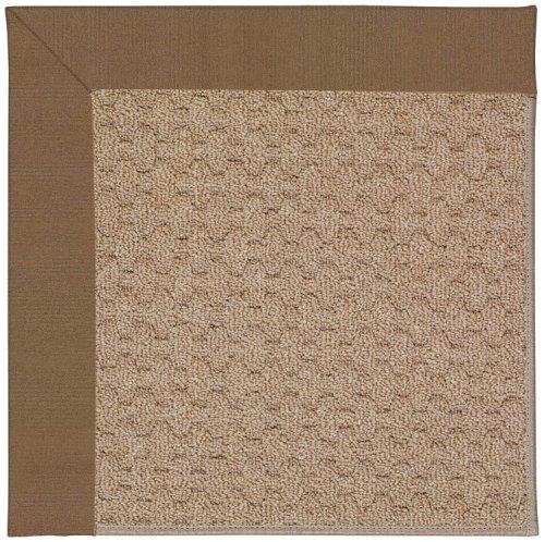 Creative Concepts-Grassy Mtn. Canvas Cocoa Machine Tufted Rugs