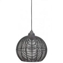 Hanging lamp 32x32,5 cm MILLA cement