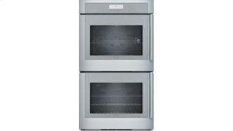 30 inch Masterpiece(R) Series Double Wall Oven, Left-Side Swing Door MED302LWS