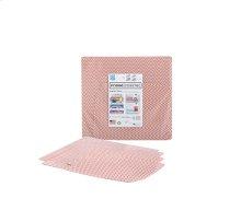 Fridge Coaster Chevron Orange Drawer Liner Kit