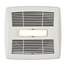 InVent Series Single-Speed Bathroom Exhaust Fan With LED Light 110 CFM 1.0 Sones ENERGY STAR Certified