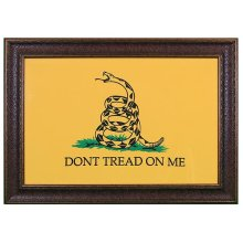 "Large ""Dont Tread on Me"" Flag No Matt"