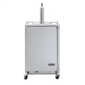 "Stainless Steel 24"" Freestanding Beverage Dispenser - VRBD (Left Hinge Door)"