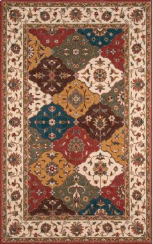 Persian Garden Pg-11 Multi - 2.6 x 8.0 Runner
