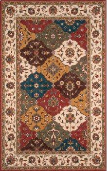 Persian Garden Pg-11 Multi - 2.0 x 3.0