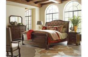Portolone King Sleigh Bed - Complete