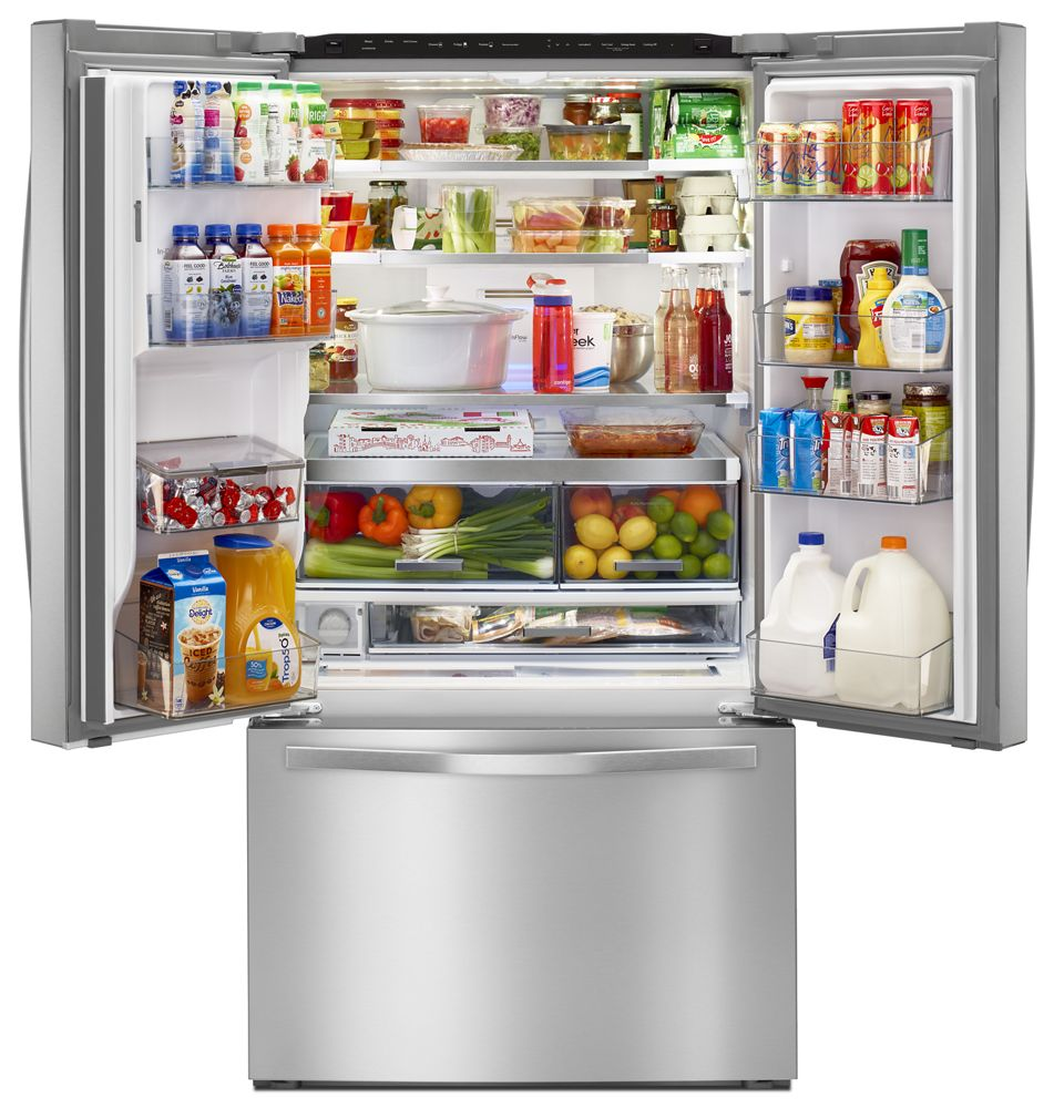 Ordinaire 36 Inch Wide French Door Refrigerator With Infinity Slide Shelves   32 Cu.  Ft
