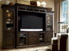 Home Entertainment Wall System - Molasses Product Image