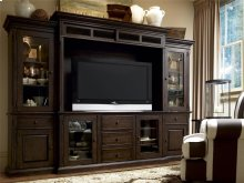 Home Entertainment Wall System - Molasses