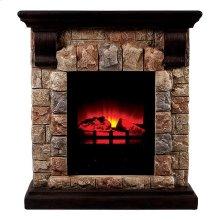 Vesti Faux Stone Fireplace