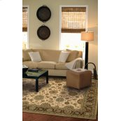 Living Treasures Li05 Bge Rectangle Rug 27'' X 18''