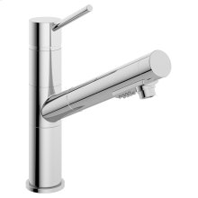 Symmons Extended Selection Single Handle Pull-Out Kitchen Faucet - Polished Chrome