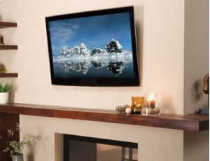 "Black Tilting Wall Mount; For 32"" - 70"" flat-panel TVs"