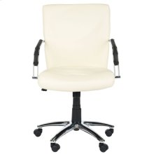 Lysette Desk Chair - Cream