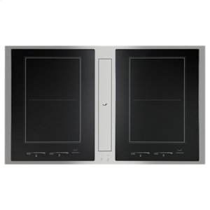 "Jenn-AirEuro-Style 36"" Induction Downdraft Cooktop"