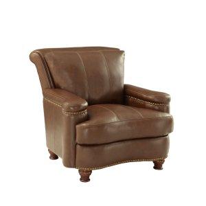 Leather Italia Usa 2493 Hutton Chair T27 Brown