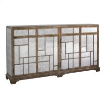 Accents Antique Mirror Credenza
