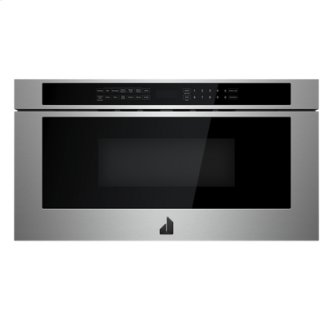 "RISE 24"" Under Counter Microwave Oven with Drawer Design"