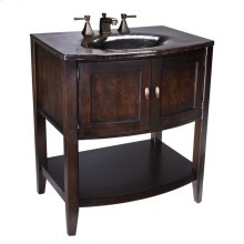 Black Nickel Verismo Vanity