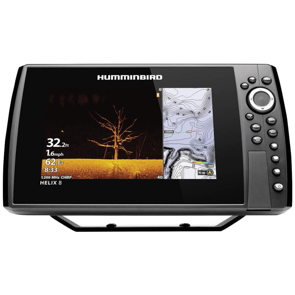HELIX(R) 8 CHIRP MEGA DI GPS G3N Fishfinder with Bluetooth(R) & Ethernet