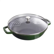 Staub Cast Iron 4.5-qt Perfect Pan, Basil