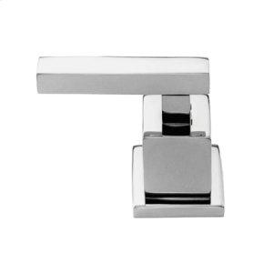 Matte White Diverter/Flow Control Handle - Hot