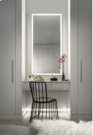 """Ryame 30"""" Lighted Mirror Black Product Image"""