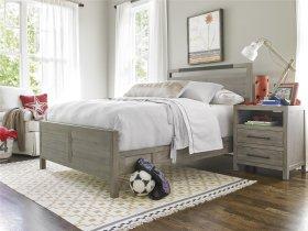 Panel Bed Set Full 46