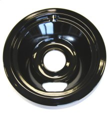 6 INCH BLACK PORCELAIN BURNER BOWL ELECTRIC