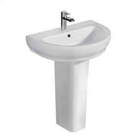 Harmony 800 Pedestal Lavatory - White