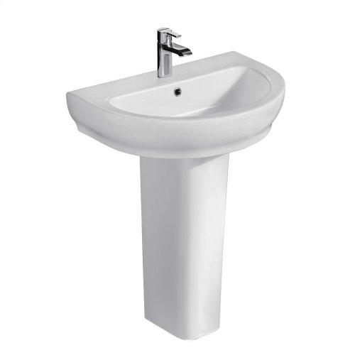 Harmony 650 Pedestal Lavatory - White