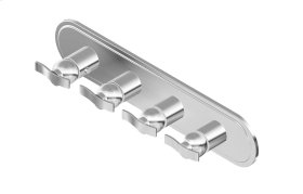 Bali M-Series Valve Horizontal Trim with Four Handles