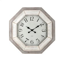 Katarina Grey Wash Wall Clock