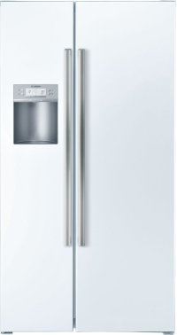Serie  6 36'' Counter-Depth Side-by-Side Refrigerator 500 Series - White B22CS50SNW