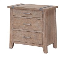 Viewpoint - 3 Drawer Nightstand