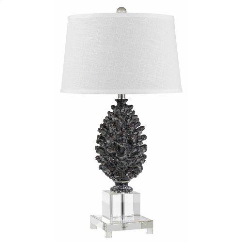 150W Pinecone Resin/Crystal Lamp