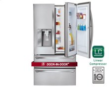 Super-Capacity 4 Door French Door Refrigerator with Door-in-Door