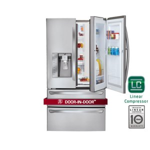 Super-Capacity 4 Door French Door Refrigerator with Door-in-Door