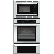 Masterpiece Series 30 inch Combination Wall Oven MEMCW301EP - Stainless Steel