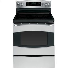 """GE Profile Series 30"""" Free-Standing Convection Range (This is a Stock Photo, actual unit (s) appearance may contain cosmetic blemishes. Please call store if you would like actual pictures). This unit carries our 6 month warranty, MANUFACTURER WARRANTY and REBATE NOT VALID with this item. ISI 33698"""