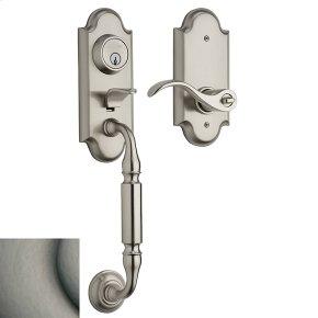 Antique Nickel Ashton Two-Point Lock Handleset
