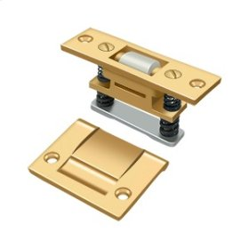 Roller Catch, HD - PVD Polished Brass