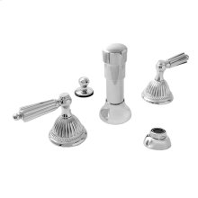 Bidet Set with Georgian Handle
