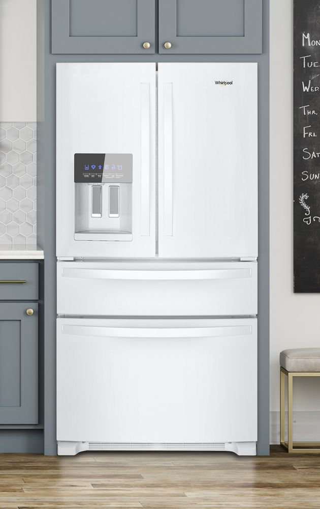 Wrx735sdhw Whirlpool 36 Inch Wide French Door Refrigerator