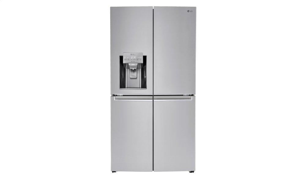 Lnxc23726s Lg Appliances 23 Cu Ft Smart Wi Fi Enabled French Door