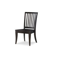 Everyday Dining by Rachael Ray Slat Back Side Chair - Peppercorn Product Image