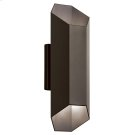 Estella Collection Estella 2 Light LED Outdoor Wall Light in AZT AZT Product Image