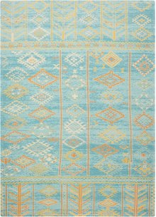 Madera Mad05 Sky Blue Rectangle Rug 5' X 7'