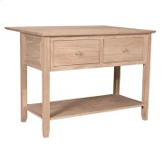 WC-16B Sussex Dropleaf Kitchen Island Product Image